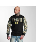 Thug Life Tröja Zombi kamouflage