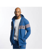 Thug Life Bar Zip Hoody Blue