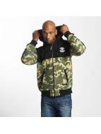 Thug Life Zip Hoodie Wired kamouflage
