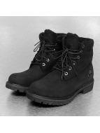 Timberland AF Roll Top Boots Black/Black