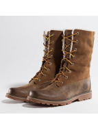 Timberland 6 In Waterproof Shearling Boots Dark Sudan Brown