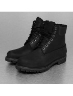 Timberland Heritage 6 In Lined Boots Black Full-Grain