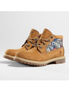 Timberland Chaussures montantes Nellie Chukka Double Fabric and Leather beige