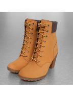 Timberland Enkellaarsje Glancy 6 In Heeled beige