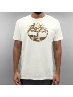 Timberland T-paidat Knnbec Camo Tree valkoinen