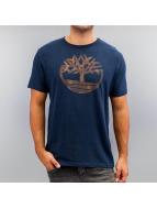 Timberland t-shirt Knnbec Camo Tree blauw