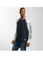 Timberland T-Shirt manches longues Pattern bleu