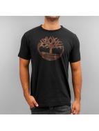 Timberland t-shirt Knnbec Camo Tree zwart