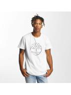 Timberland T-Shirts Dead River beyaz