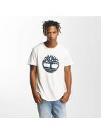 Timberland T-shirts Kennebec hvid