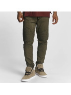 trueprodigy Stiched Jogger Pants Olive