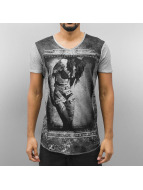 trueprodigy T-Shirt With Photoprint grau