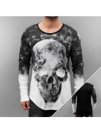 trueprodigy T-Shirt manches longues Skull noir