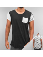 trueprodigy T-Shirt Backside Print And Pocket schwarz