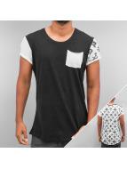 trueprodigy T-Shirty Backside Print And Pocket czarny