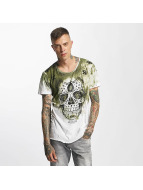 trueprodigy T-Shirty Skull zielony