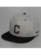 TrueSpin Кепка с застёжкой ABC-C Wool серый