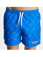 TrueSpin Badshorts Underwater Print blå