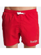 TrueSpin Badshorts Swimming röd