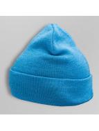 TrueSpin Beanie Plain Cuffed blau