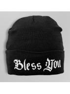 TrueSpin Beanie Bless You Classic zwart