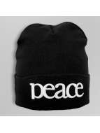 TrueSpin Beanie Peace zwart