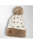 TrueSpin Bonnet Cheetah beige