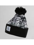 TrueSpin Bonnet hiver Roses noir