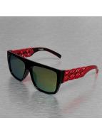 TrueSpin Lunettes de soleil Las Cadenas rouge