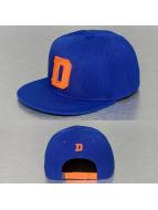 TrueSpin Snapback Cap D-ABC Edition blau