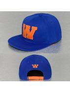 TrueSpin Snapback Cap W-ABC Edition blau