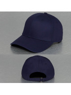 TrueSpin Snapback Cap Blank Baseball blau