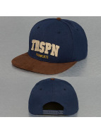 TrueSpin Snapback Cap TRSPN Fleece blau