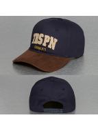 TrueSpin snapback cap Round Visor TRSPN Fleece blauw