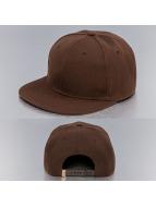 TrueSpin snapback cap Acrylic Blank bruin