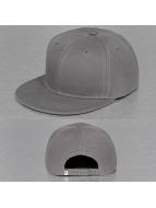 TrueSpin Snapback Cap Acrylic Blank grau