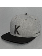TrueSpin Snapback Cap ABC-K Wool grau