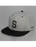 TrueSpin Snapback Cap ABC-S Wool grau