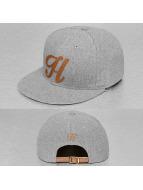 TrueSpin snapback cap ABC-H Wool grijs
