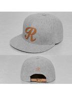 TrueSpin snapback cap ABC-R Wool grijs