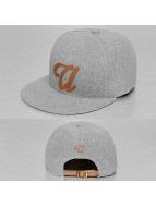 TrueSpin snapback cap ABC-U Wool grijs
