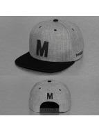 TrueSpin snapback cap ABC-M Wool grijs
