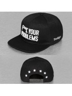 TrueSpin Snapback Cap Fuck Your Problems nero