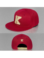TrueSpin Snapback Cap ABC Edition red