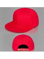 TrueSpin snapback cap Acrylic Blank rood
