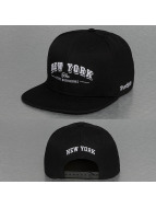 TrueSpin Snapback Cap New York City schwarz