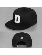 TrueSpin snapback cap D-ABC zwart
