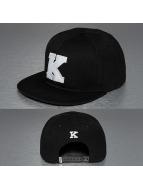 TrueSpin snapback cap K-ABC Edition zwart