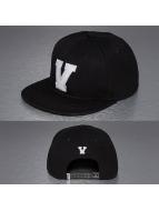 TrueSpin snapback cap V-ABC zwart