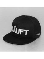 TrueSpin snapback cap Läuft zwart